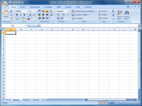Attach Blank Excel Document - Book1.xls